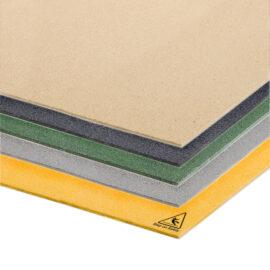 lose up of the colour range of QuartzGrip Anti-Slip Floor Cover plates