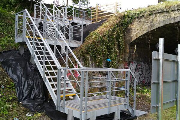 Craigentinny Embankment Stairs