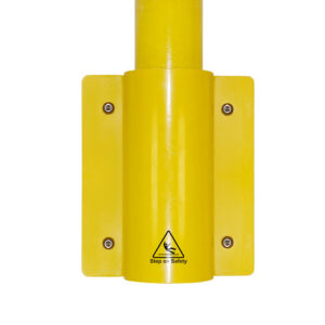 Close up showing a SafeClamp Side Mount