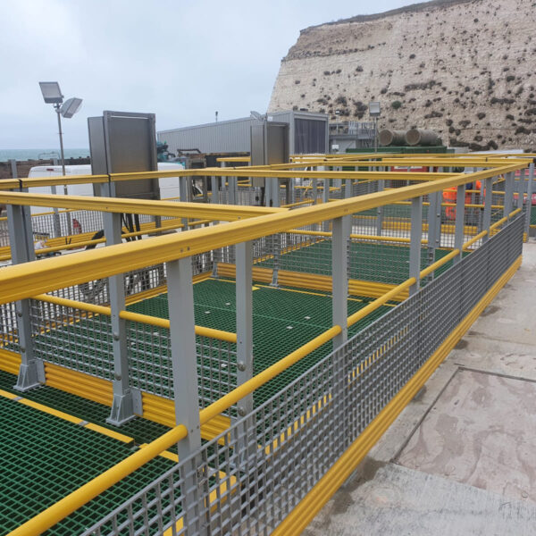 GRP Handrails & Fencing