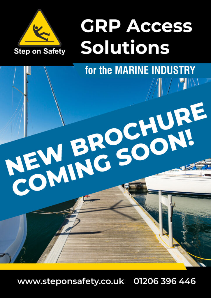 Preview of the Step on Safety Marine brochure