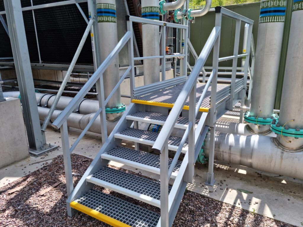 Step over at Baddesley Waste to Energy Plant