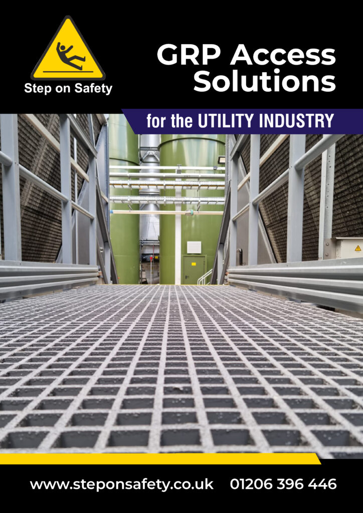Front cover of the Step on Safety Utility Industry Brochure